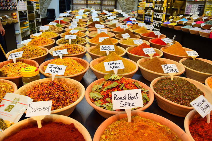 Jerusalem Old Town Food Food And Drink Market Spices Spices Of The World Spice Bazaar Souk Souks Resist Visual Feast Food Stories