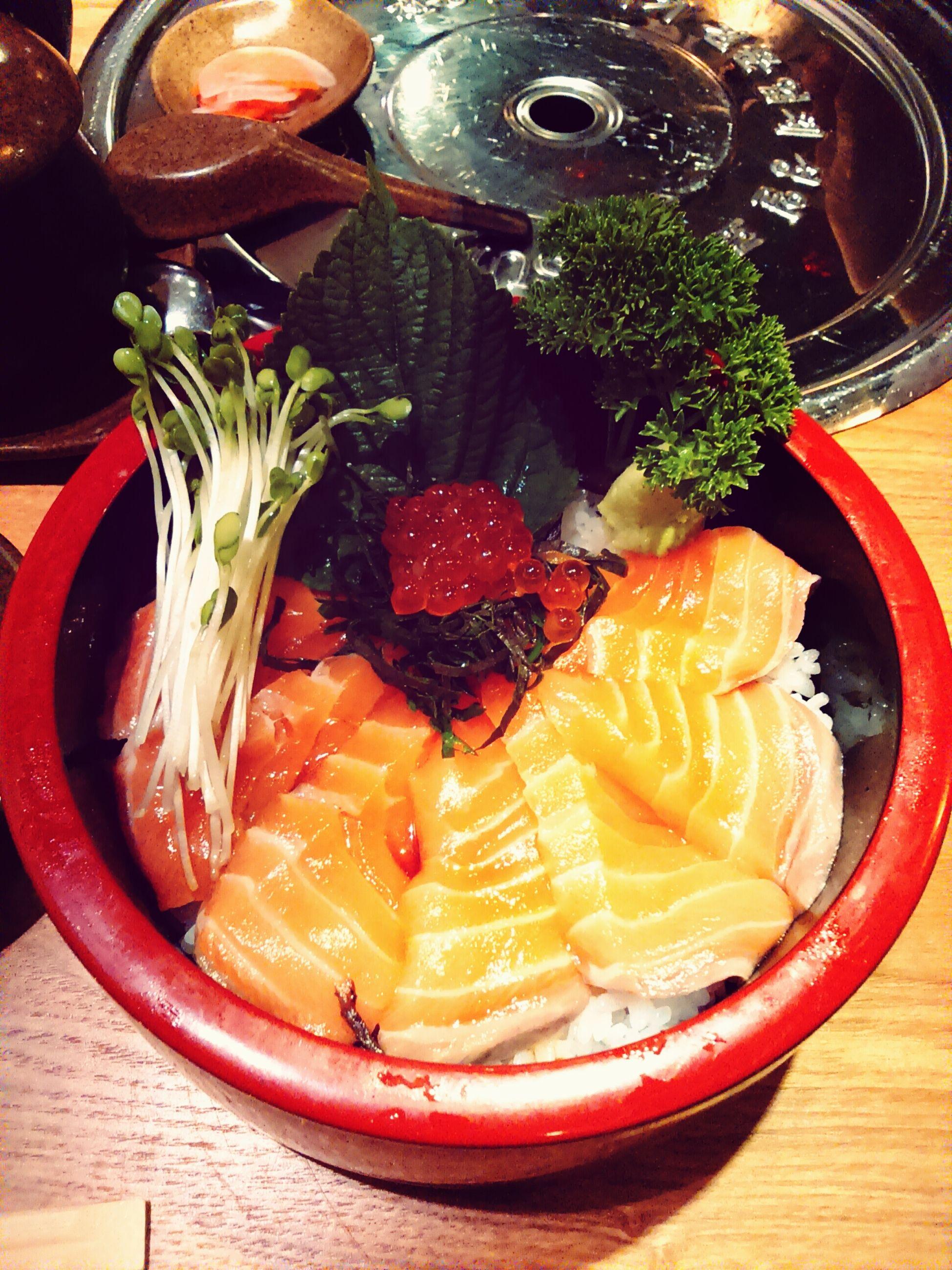 Egg Salmon Fish Lunch