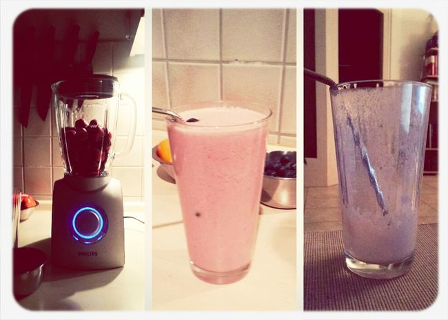 Food Porn Yammy!!  Smoothie Time  Drinking A Smoothie