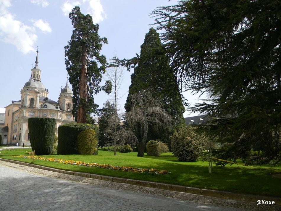 Monuments Segovia Jardines Palacio De San Ildefonso