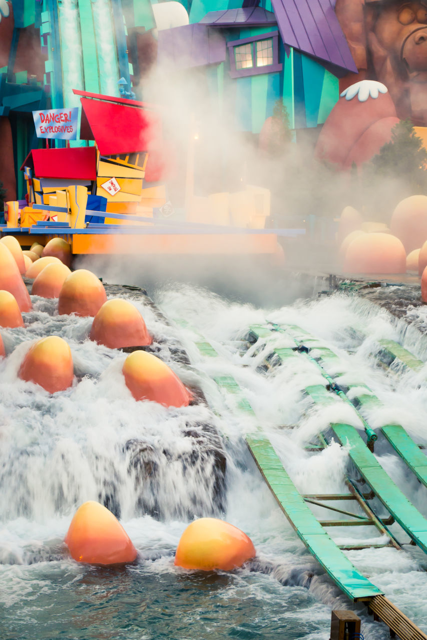 orange color, outdoors, motion, water, food and drink, day, sea, food, no people, healthy eating, freshness, nature, close-up