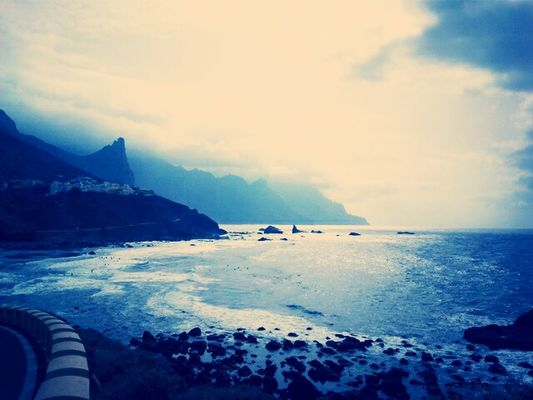 sea at tenerife by Tina Pistazie