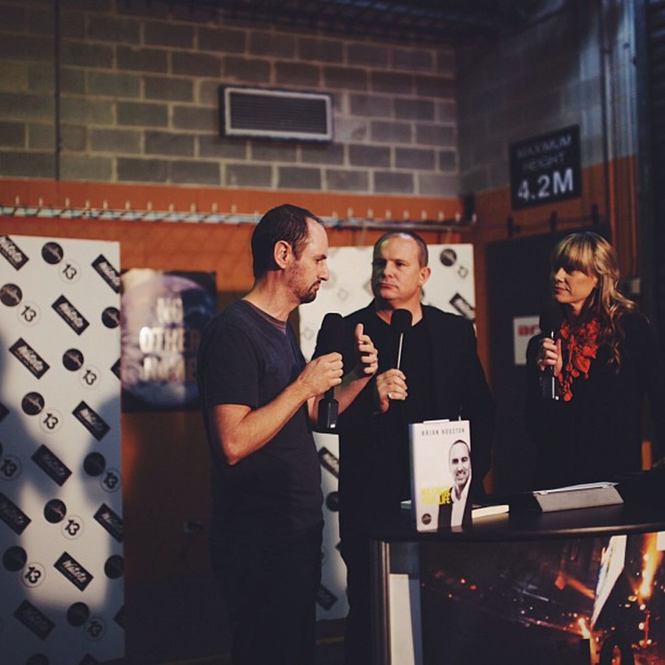 John Beckett on Backstage @hillsong Hillsongconf Micahchallenge Halvepovertyby2015