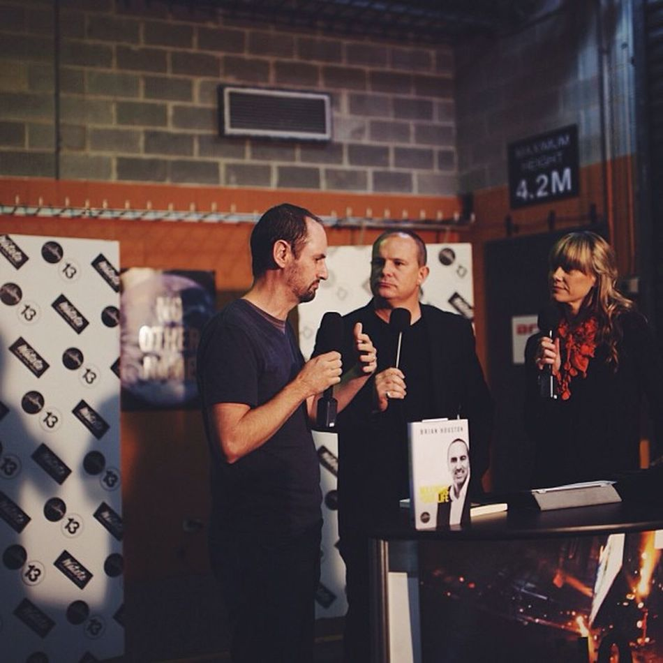 John Beckett on Backstage @hillsong Hillsongconf Micahchallenge Halvepovertyby2015
