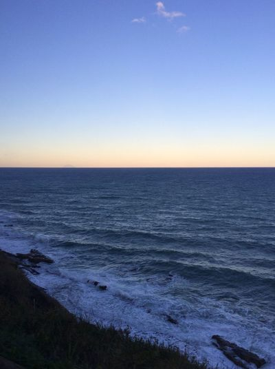 Morning Morning Sky Sea Sky Winter Cold Best View Travel Photo Made By Me Italy Pizzo
