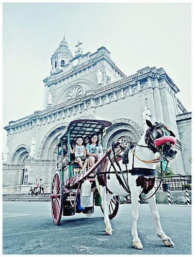 Touring Intramuros,Maynila History Transportation Travel Destinations First Eyeem Photo