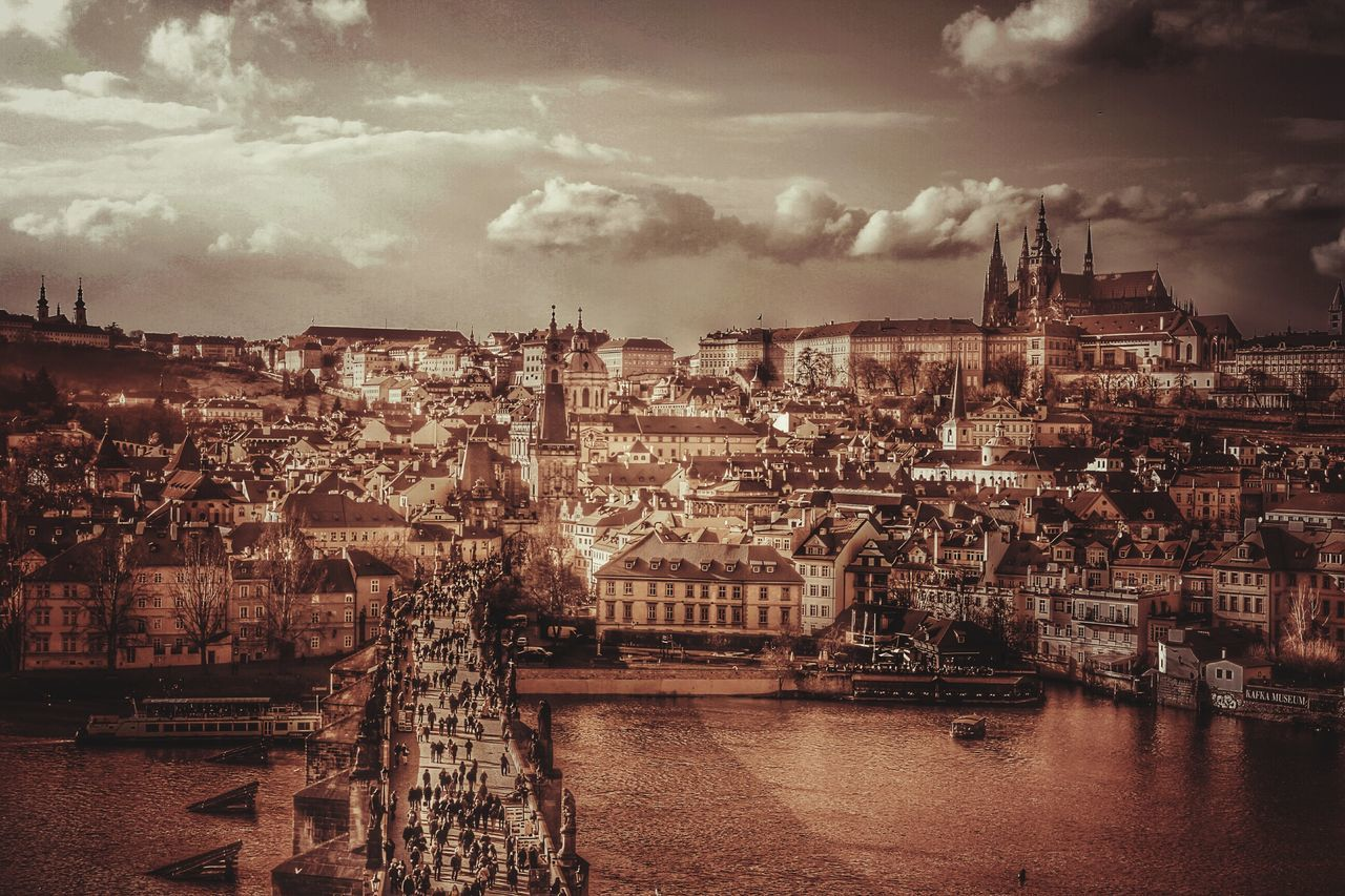 Vintage Old Town Prague Monotone Sepia Travel Photography Cityscapes Medieval Prague Gettyimages