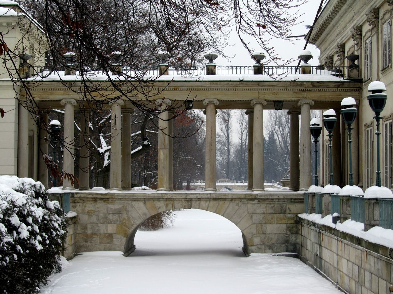 architecture, built structure, building exterior, winter, snow, tree, cold temperature, day, outdoors, no people, bare tree, nature