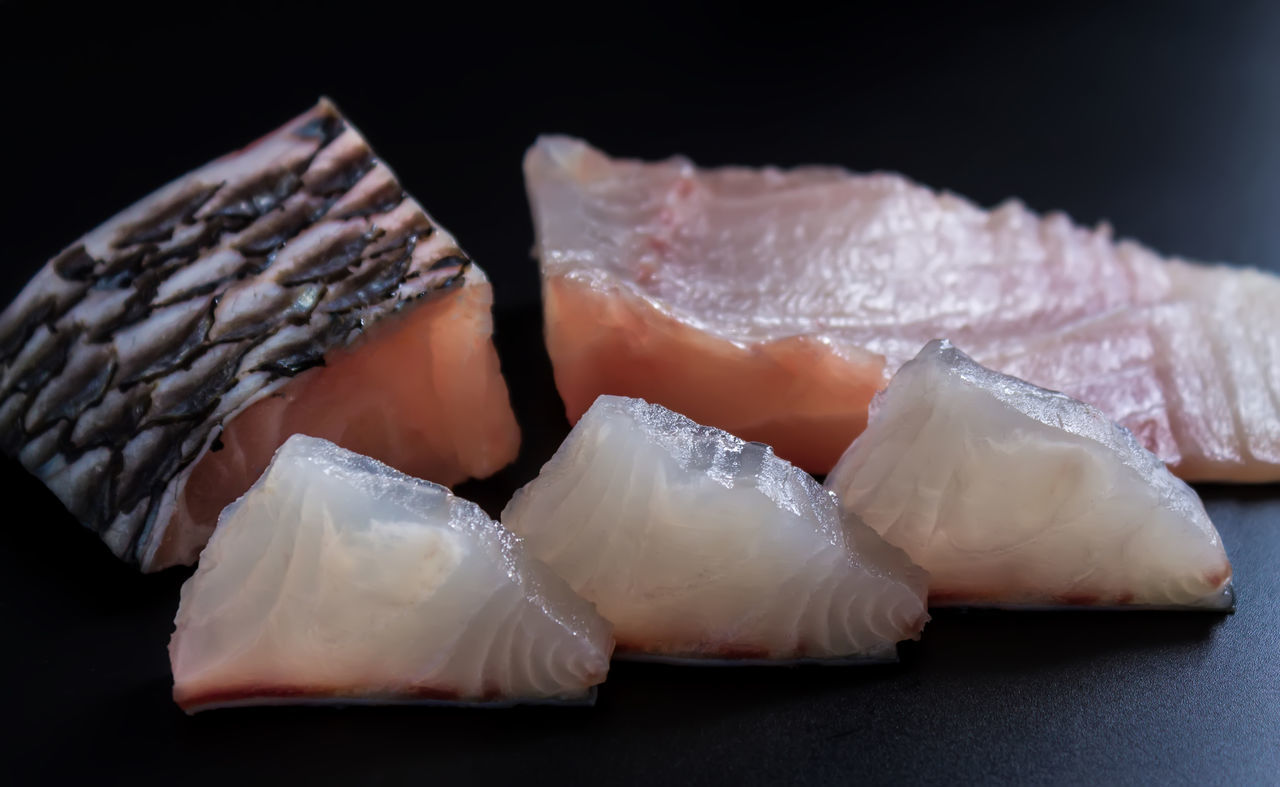Bacon Close-up Fish Food Food Preparation Freshness Healthy Food Indoors  Low Calorie Meat No People Raw Food Sliced