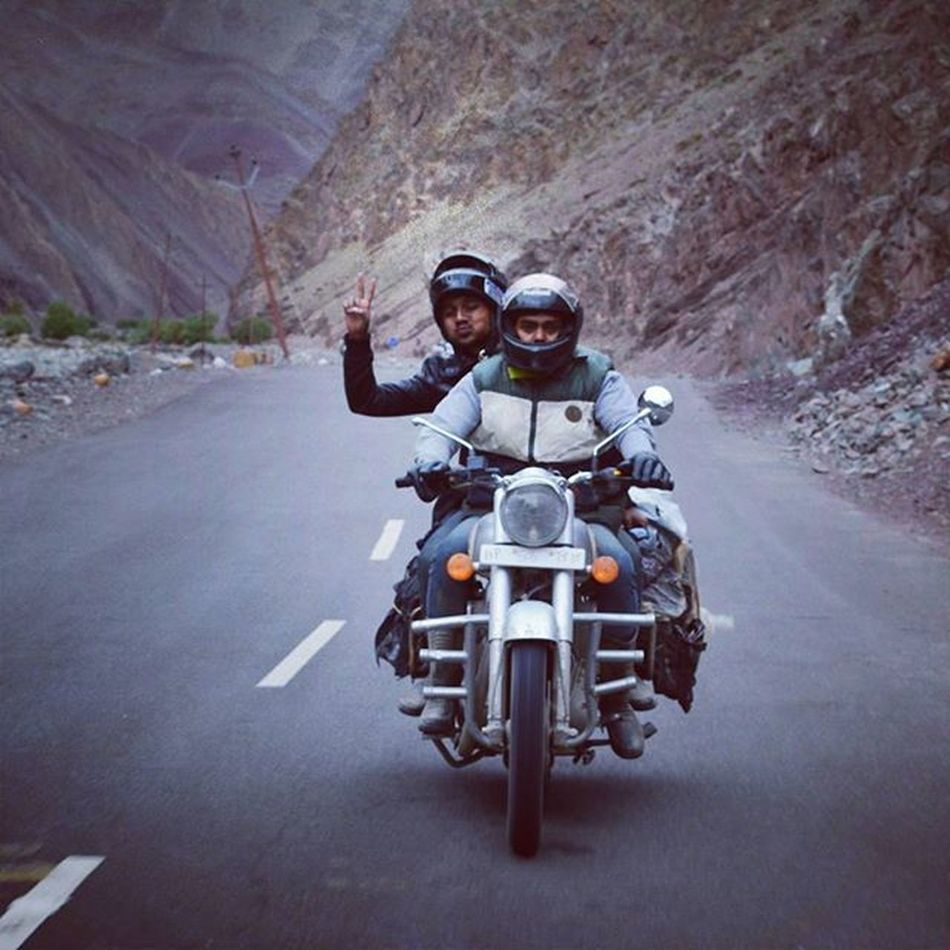 Theboys HappyFriendshipDay Travel Twodaysonbike Adventures Lifetimefriends Lifetimeexperience Getwellsoon @arfeeddylan 😊☺ Jammu & Kashmir explored ☺