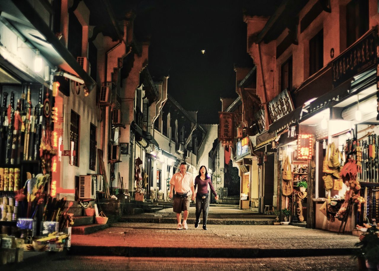Village street My Traveling Photography My Street Photography Travel Photography Night Night Photography Night Street Village Life Footpath Small Shop People And Places From My Point Of View