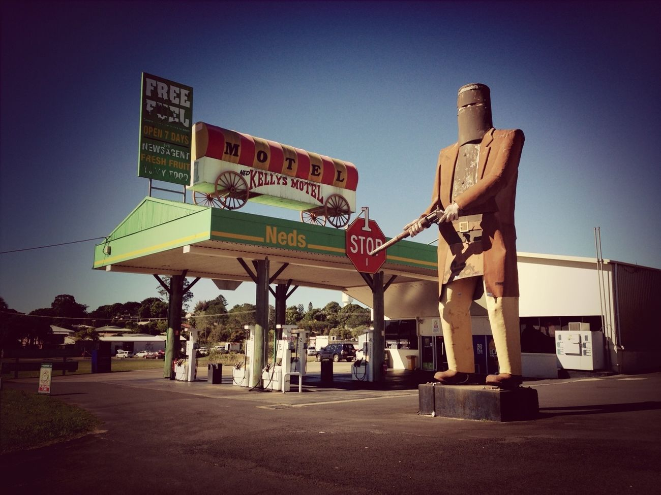 Gas OutLaw Ned Kelly