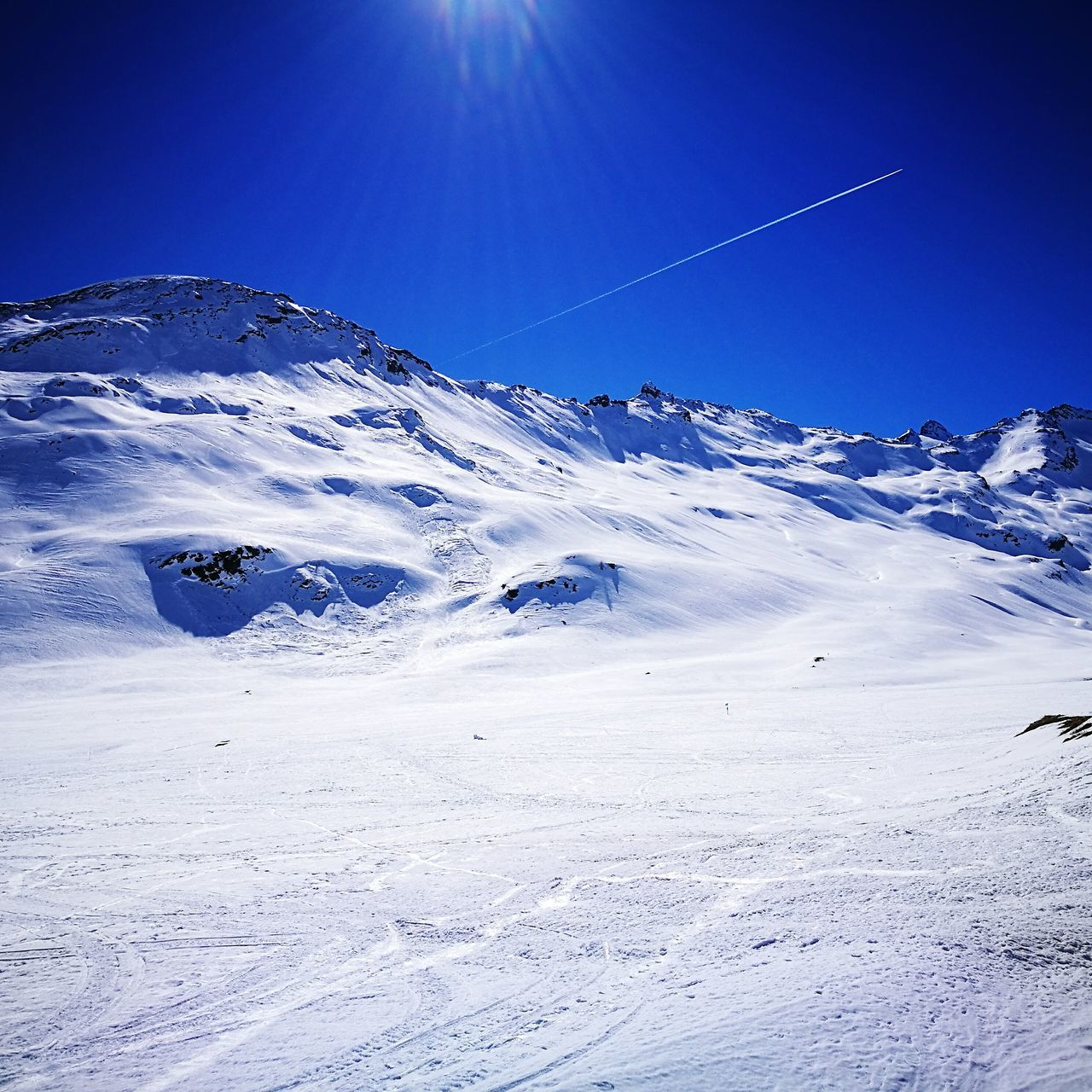 Questo è il paradiso! Blue Sky Snow Landscape Outdoors Scenics Nature No People Day Mountain First Eyeem Photo