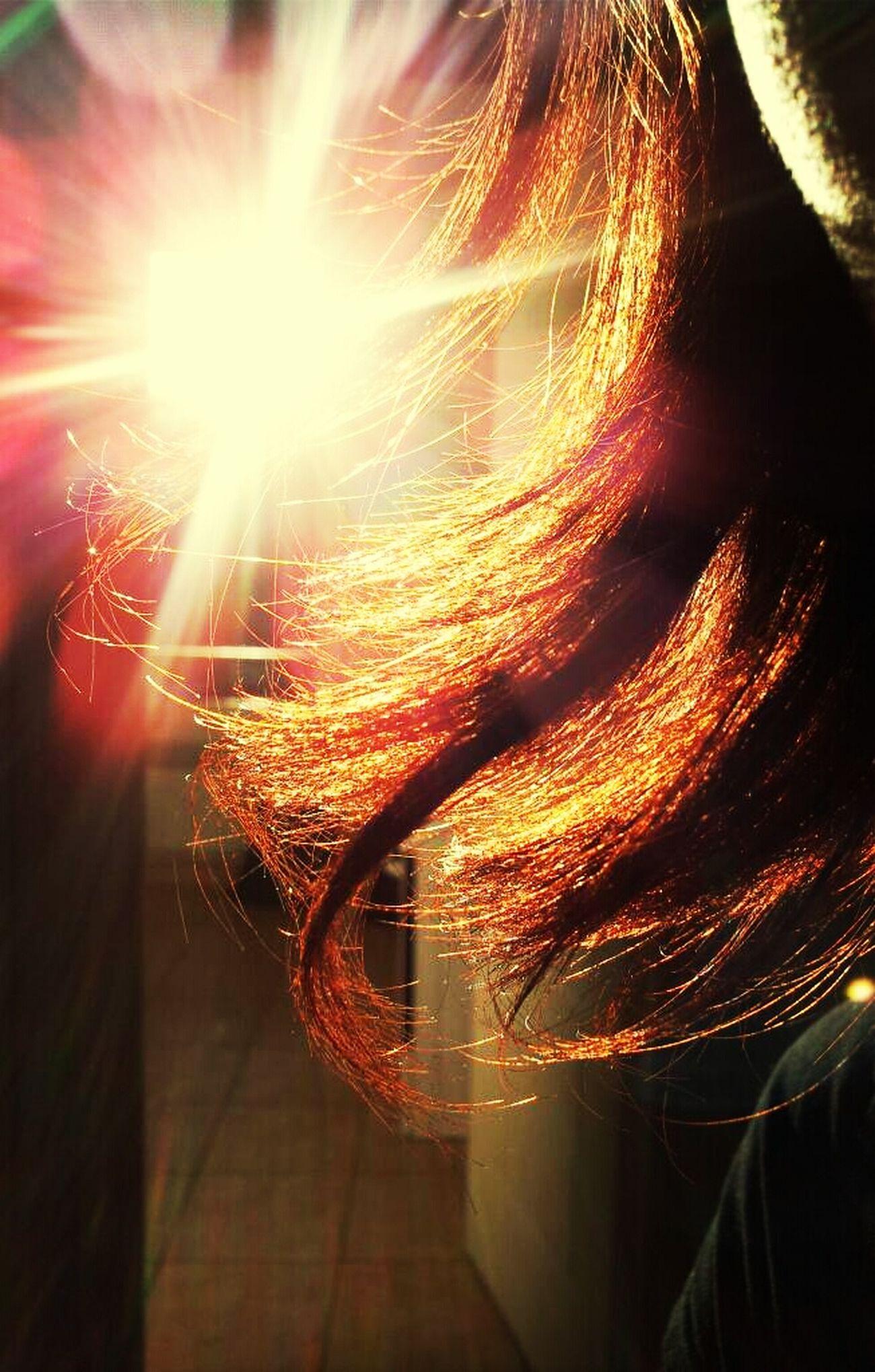 Me Sun Hair Red