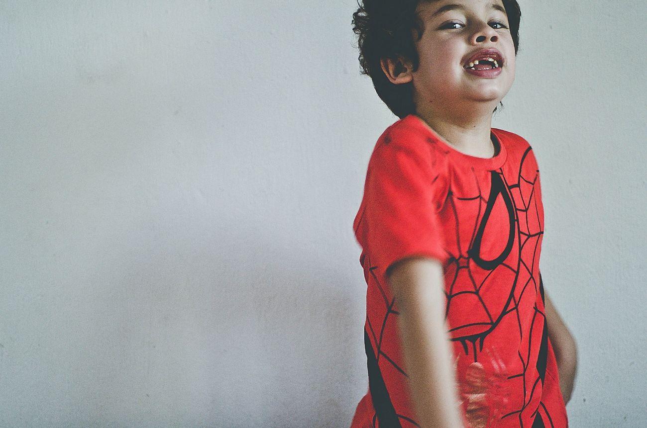 Children Emotions Portrait My Son