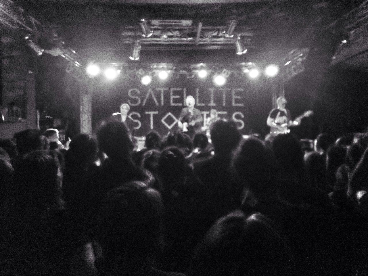 Satellite Story Berlin Concert Frannzclub Blackandwhite