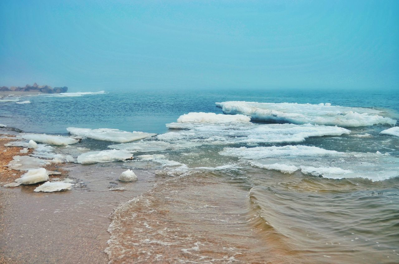 Sea Scenics Beach Outdoors Weather Springtime Spring Outdoor Photography Foggy Weather Tranquility Foggy Morning Landscape Water Winter Ice Iceland Calm Power In Nature Foggy Nature No People