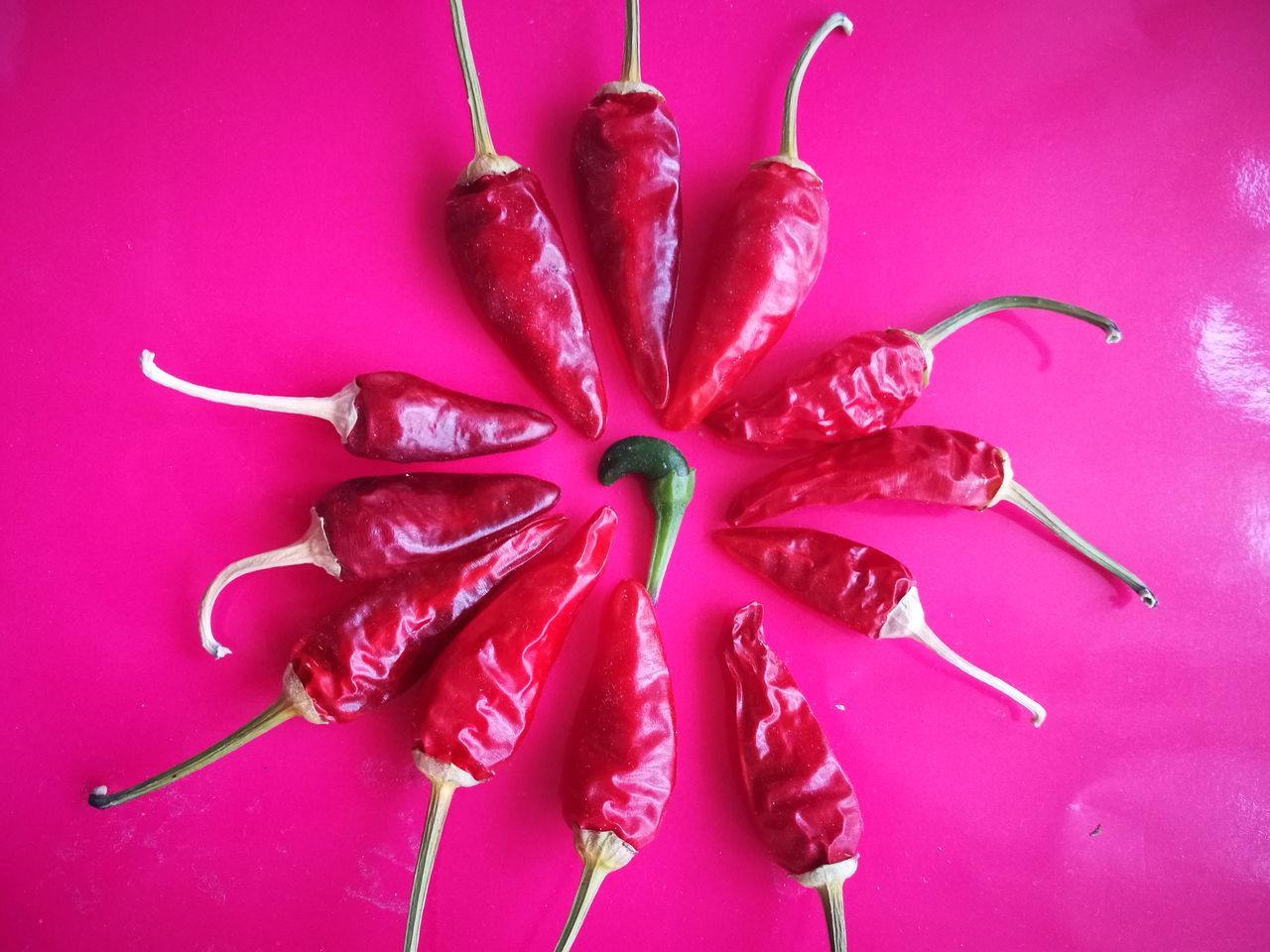 Chili Pepper Chilies Food Freshness Pink Color Purple Red Pepper Red Peppers