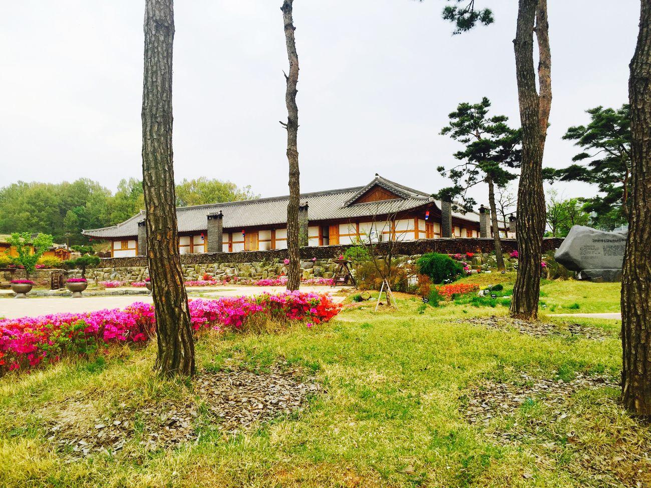 South Korea Korean-style House Hanok Village
