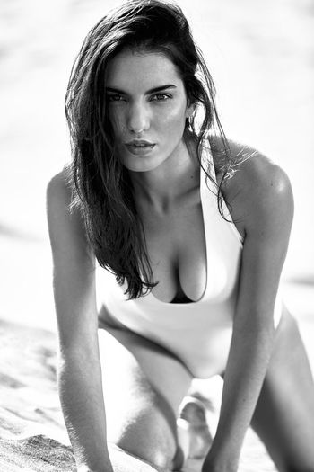 Young Adult Beauty Beautiful People Beautiful Woman One Young Woman Only Beach Portrait Summer Long Hair Young Women Bikini One Person Women Sunlight Outdoors Sea Water Adult Vacations Females