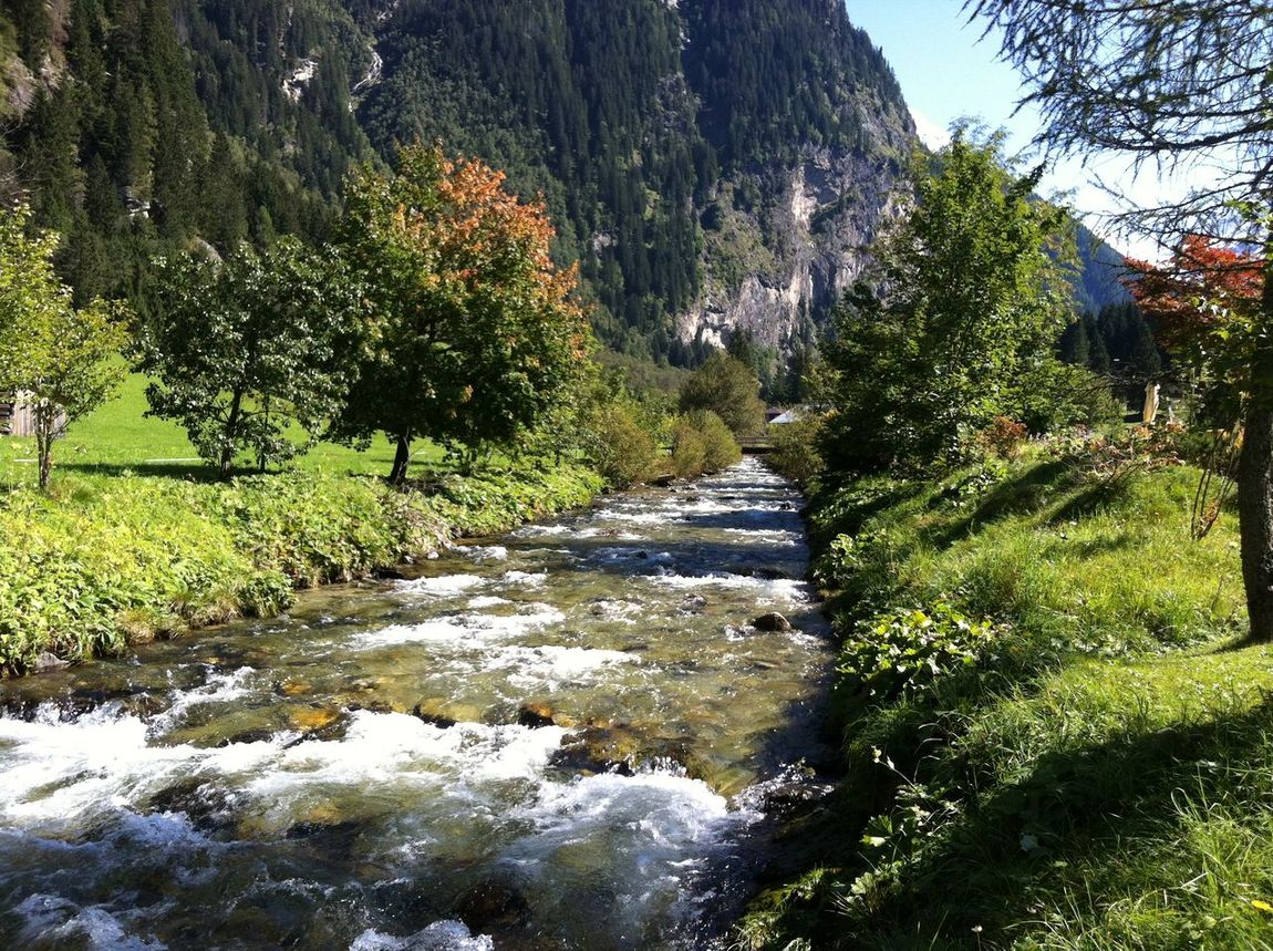 Water Nature Outdoors Day Beauty In Nature Mountain Sunshine River Nature Photography Natural Phenomenon Natur Pur :)