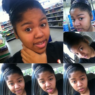 Grocery shopping with my mom. !