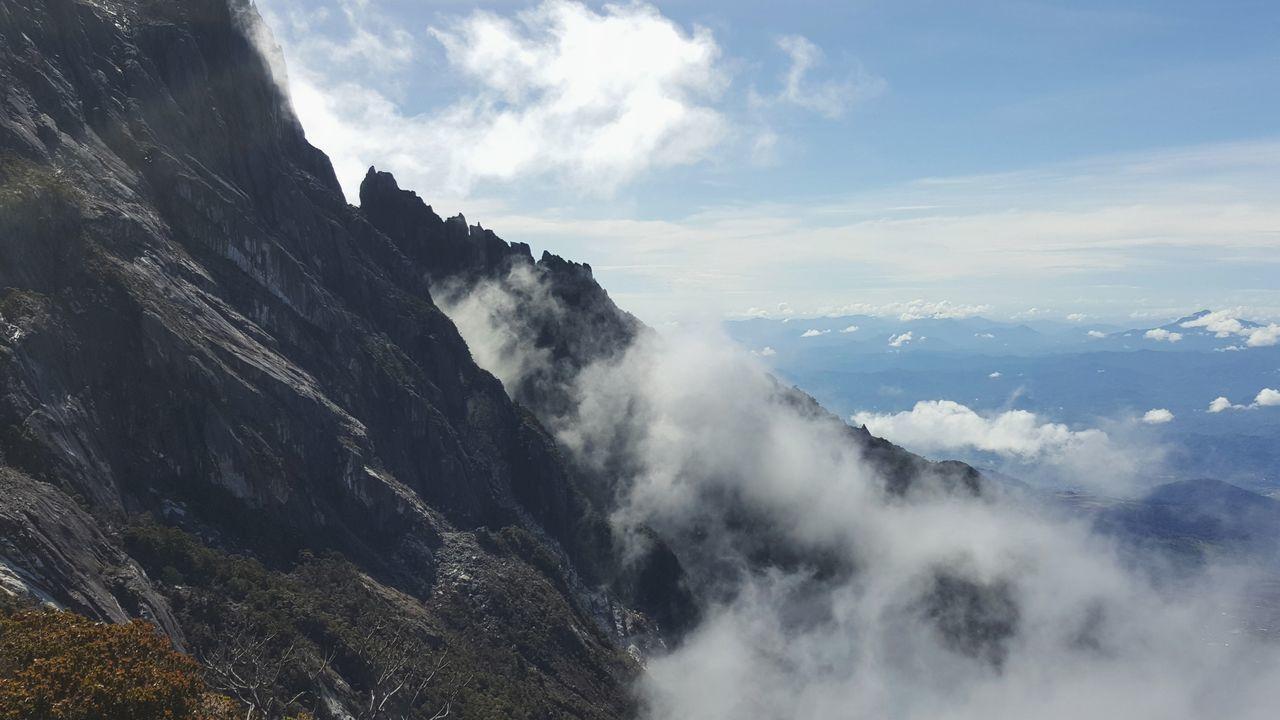 Mountain Kinabalu Cloud And Mountain