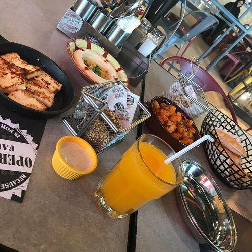 من الذ المطاعم اللي اكلت فيها 😋👋🏻 تصويري  لقطه صور فطور يمي الرياض Photo Picoftheday Breakfast Yummy KSA Riyadh