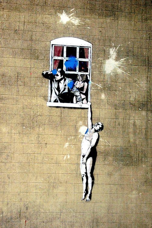 Streetart Street Art Graffiti & Streetart Banksy Banksyart BanksyWasHere Check This Out Street BanksyBristol Bristol England