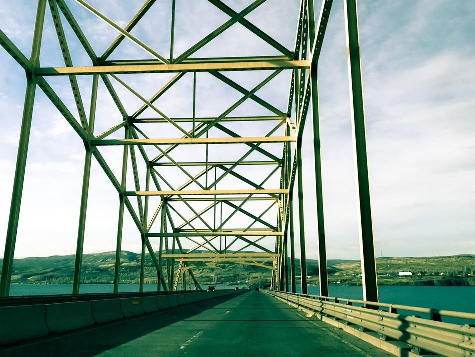 Heading back to Seattle Architecture Sky Built Structure Connection Day No People Bridge - Man Made Structure Outdoors Modern Nature The Way Forward Miles Away