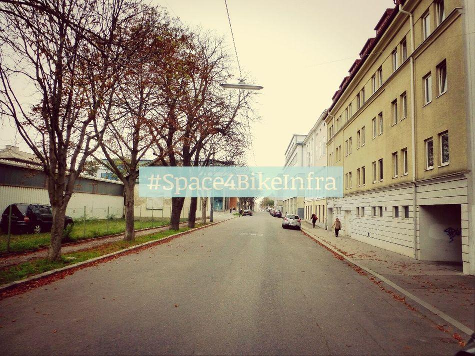 Space4BikeInfra @Cumberlandstraße Wieb Radfahren Cycling