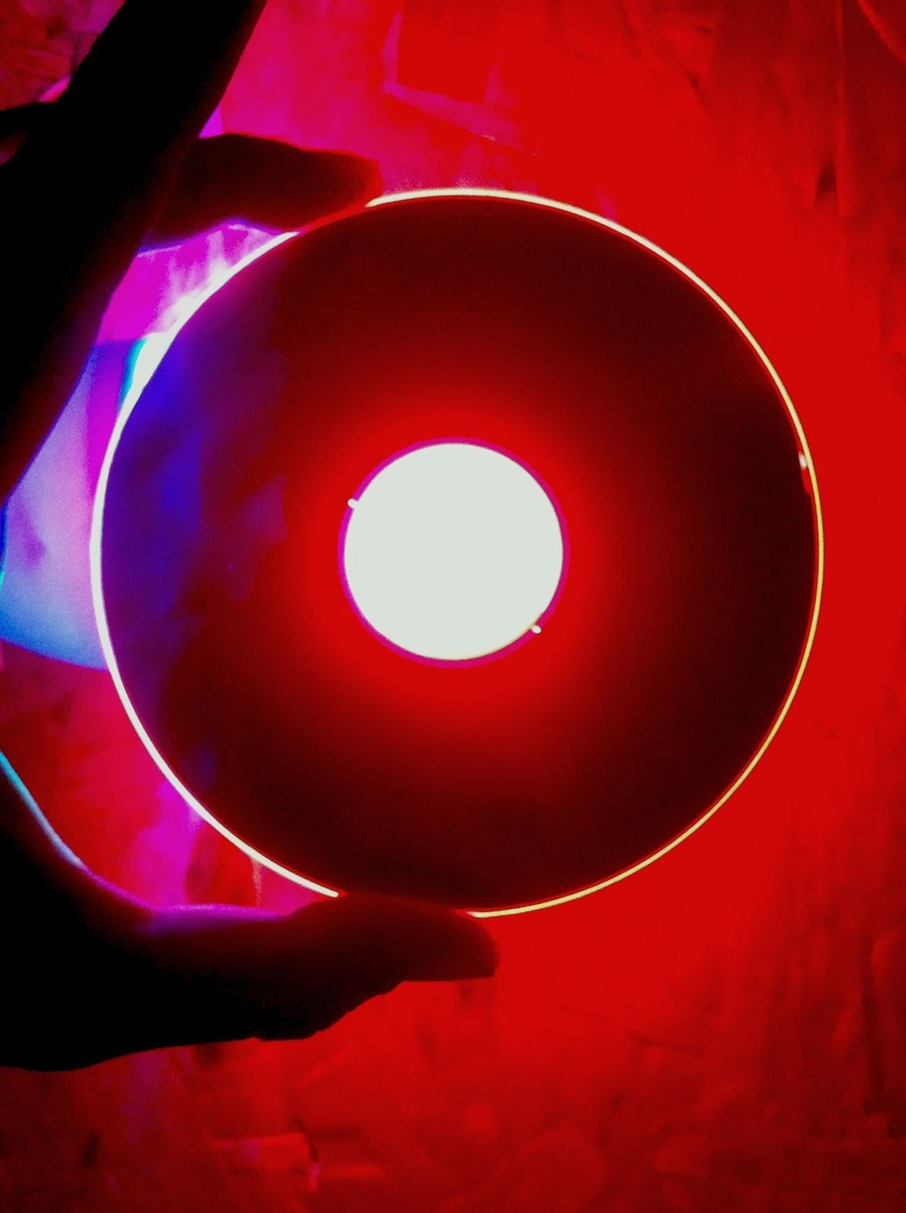 свет красный Светильник