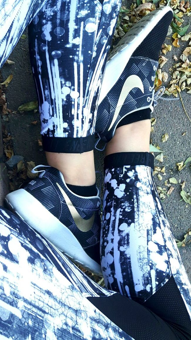 Nike in the autumn. Cold Temperature Snow Winter Season  Messy Farm Life No People Beauty In Nature Sky Day Outdoors Sunny Color Field Crop  Shoes