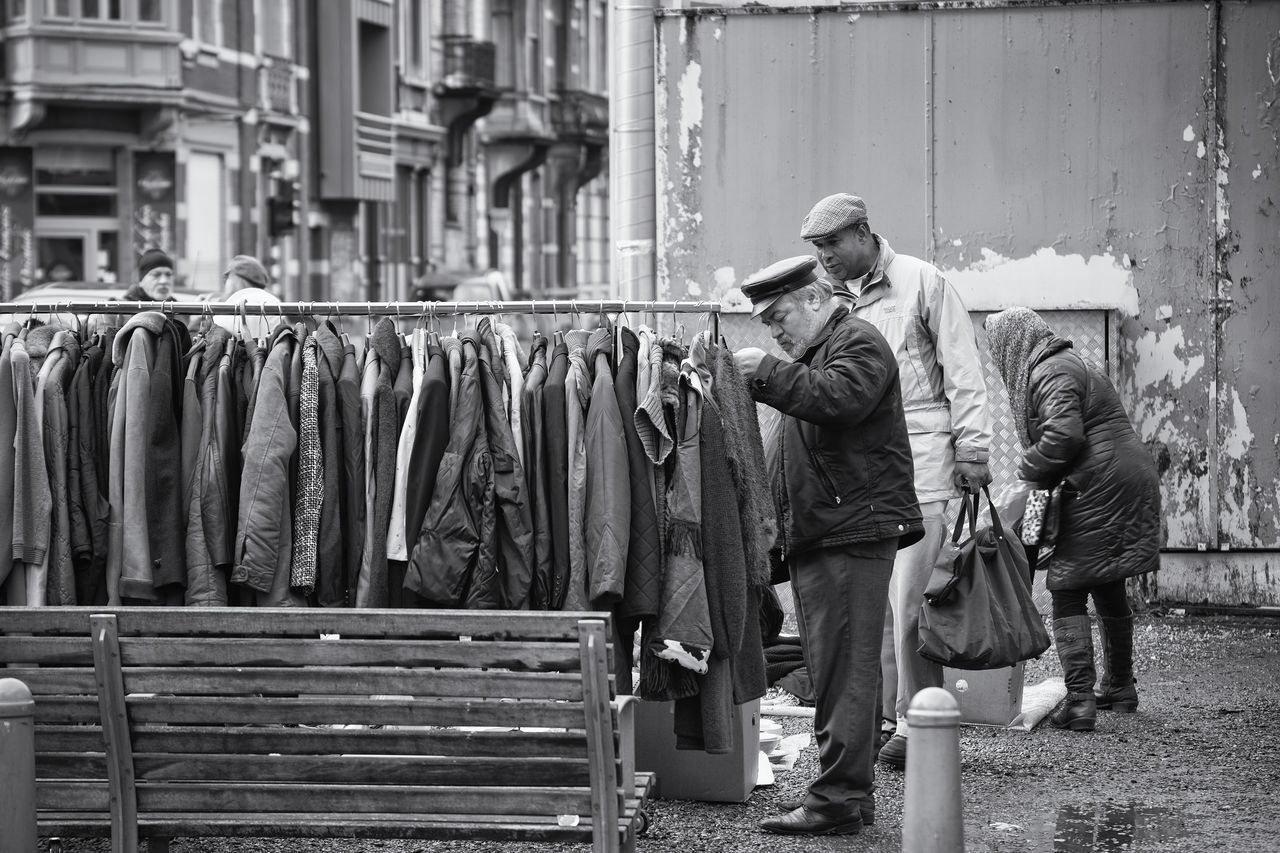 Flee market in Liege, Belgium Black And White Blackandwhite Photography Fleemarket Outdoor Photography Street Streetphotography