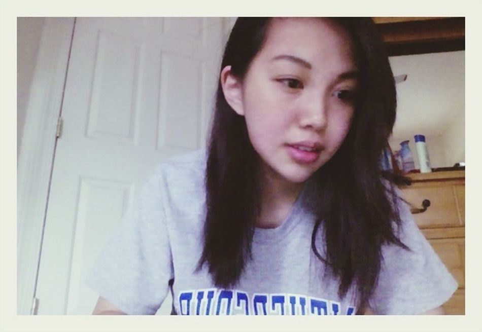 Mother did my eyebrows (: Selfportrait Asian  Girl