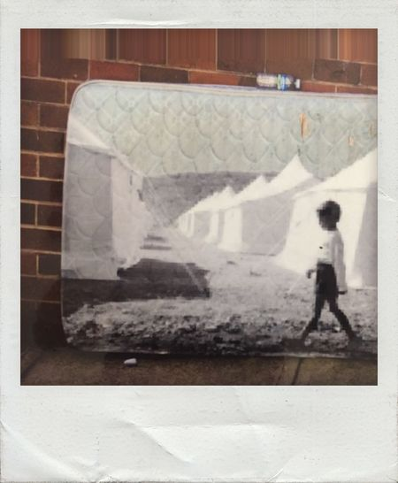 A Mattress Can Tell The Story War And Poverty Refugees Never Ending Pain Struggle For Life The Age Of Aquarius Photographic Approximation Resist! BYOPaper!