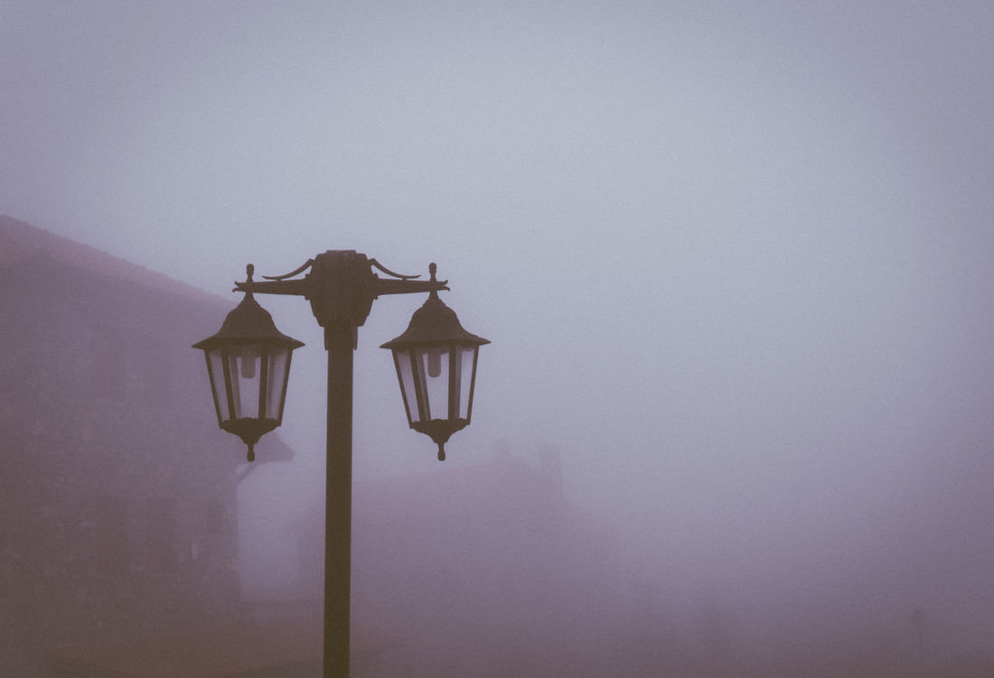 Light Close-up Day Fog Foggy Morning Low Angle View Moody Nature No People Outdoors Sky