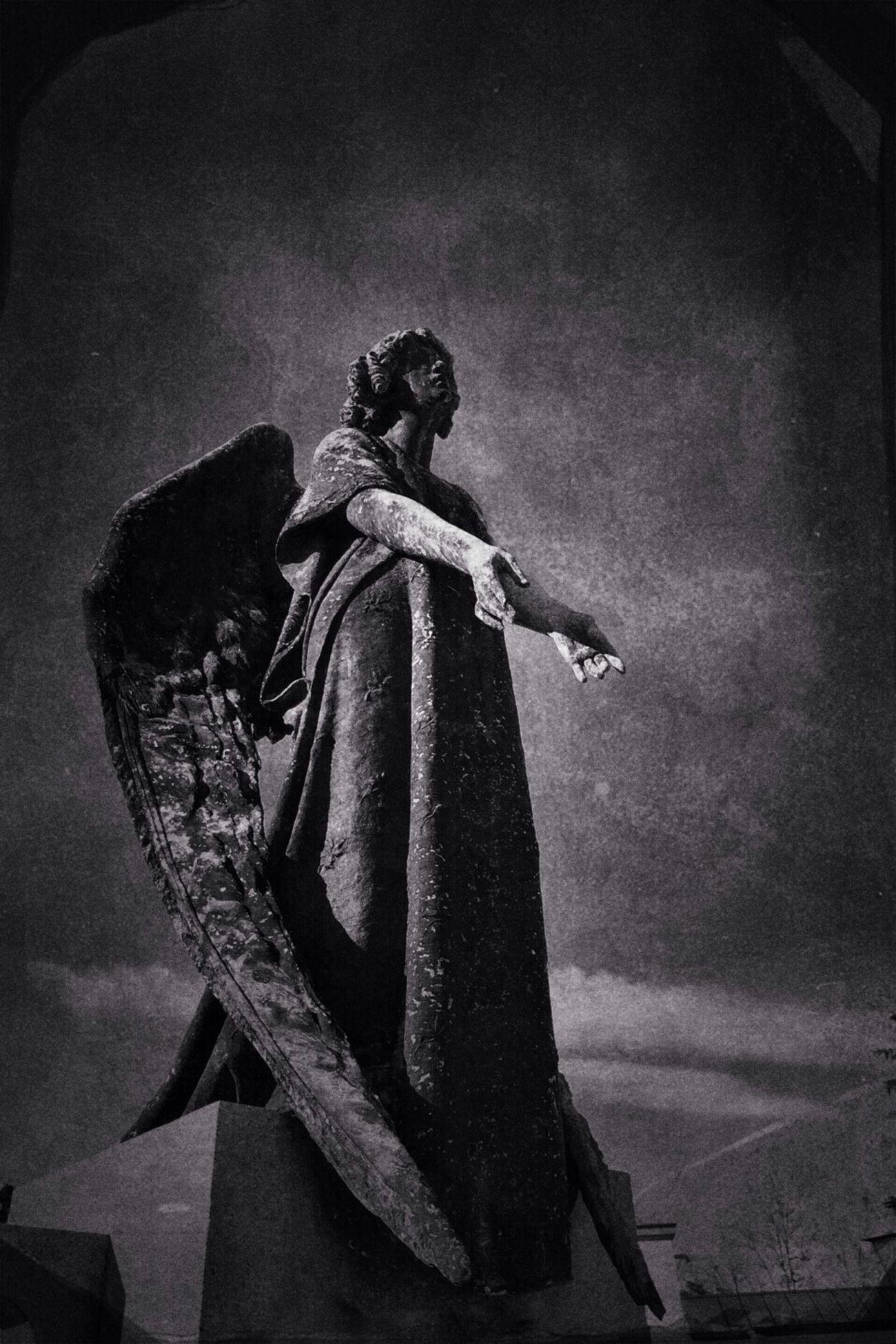 Angel of acceptance NEM Black&white NEM BadKarma Cemeteries