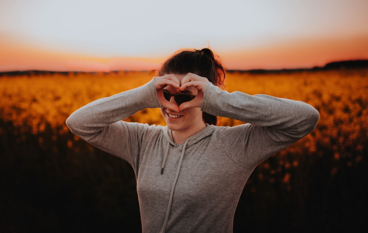 Adult Adults Only Be My Valentine Close-up Day Heart Heart Shape Human Body Part Human Hand I Love You Kiss Love Lover Lover Letter Nature One Person Outdoors People Portrait Sunset Valentine's Day  Waist Up