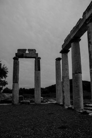 Ancient Architecture Ancient Civilization Ancient Greek Ancient Ruins Blackandwhite Culture Messinia Theater
