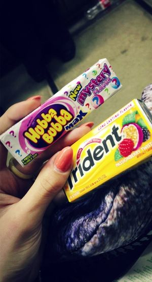 Hubbabubba Tridents Bubble Gum Bubblegum