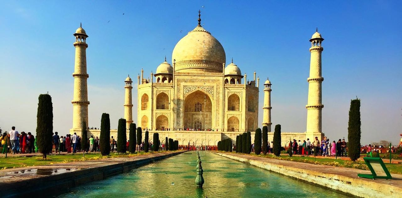 Agra Taj Mahal India
