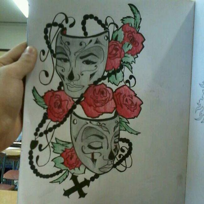Flower Art Rosé Mask Theatre Theater Mask Rosery