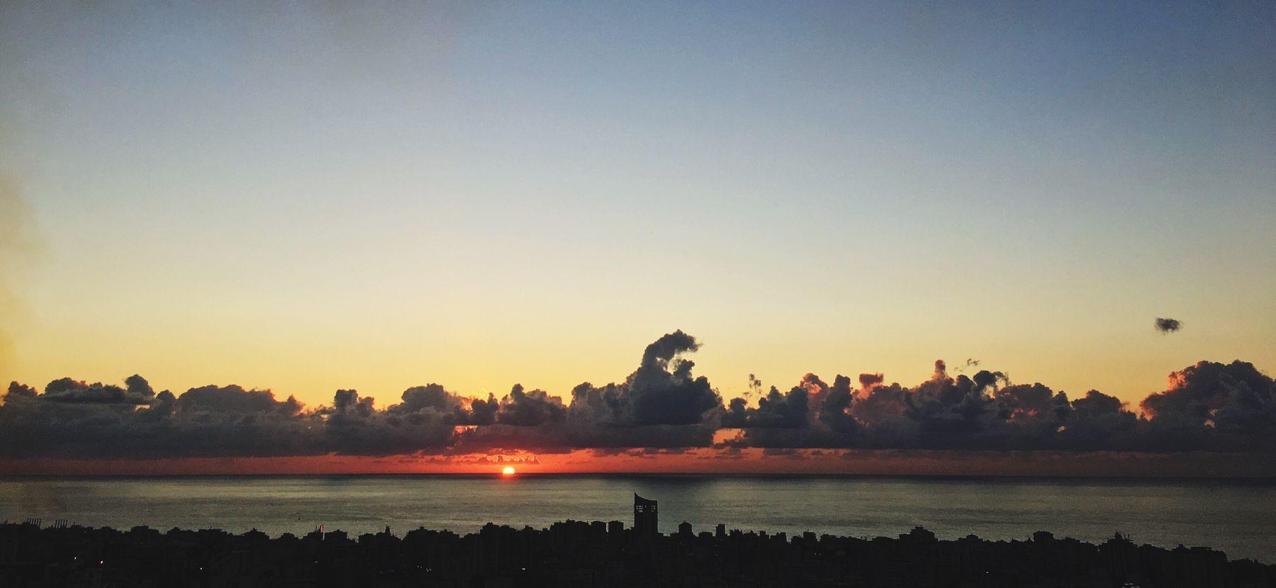 Sunset Jounieh Bay Lebanon