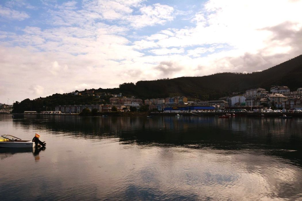 Sea Mirror Reflection Viveiro
