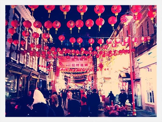 Hanging out at chinatown london by Ravi Chand