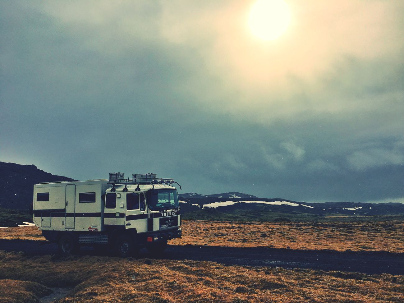 Break Camper Highlands Clouds And Sky Sun Iceland116 Iceland_collection