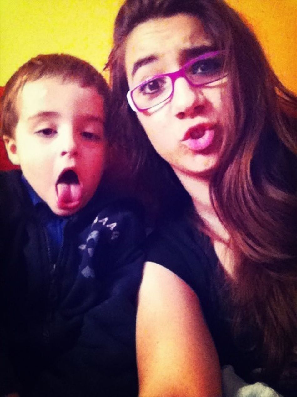 I love my cousin!❤❤❤
