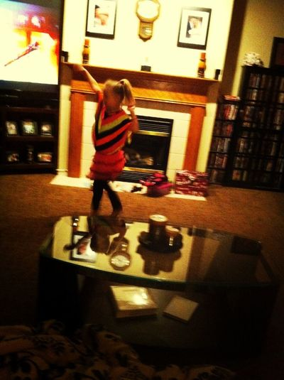 Dancing To I Love Rock And Roll