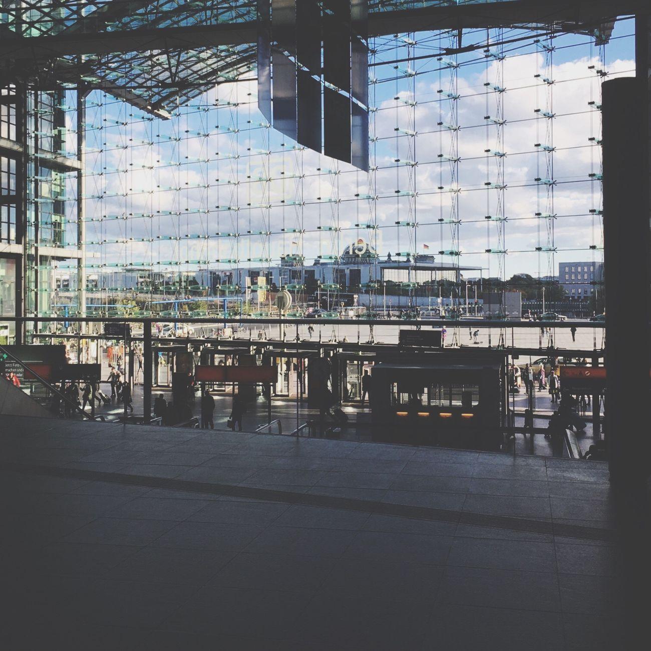 Hereweare Berlin Hauptbahnhof